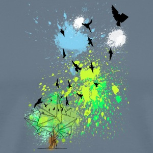 Cool birds can fly - Men's Premium T-Shirt