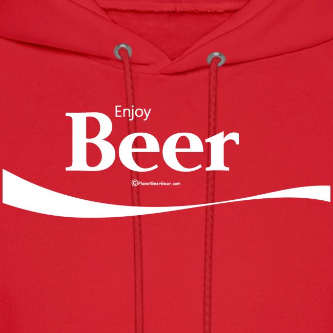 Enjoy Beer Men's Hoodie