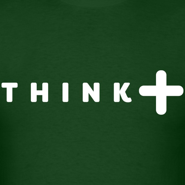think positive T-Shirts - Men's T-Shirt