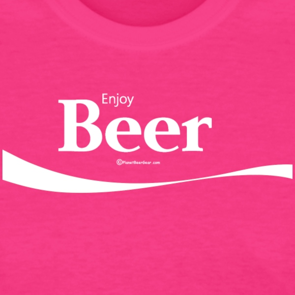 Enjoy Beer Women's T-Shirt - Women's T-Shirt
