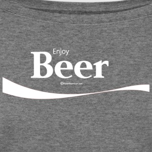 Enjoy Beer Women's Wideneck Sweatshirt - Women's Wideneck Sweatshirt