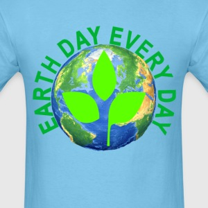 earth_day_every_day_ - Men's T-Shirt