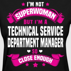 Technical Service Department Manager T-Shirts - Women's T-Shirt