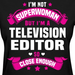 Television Editor T-Shirts - Women's T-Shirt