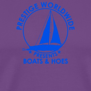 Prestige Worldwide Boats And Hoes - Men's Premium T-Shirt