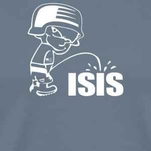 Pee On Isis Decal Look - Men's Premium T-Shirt