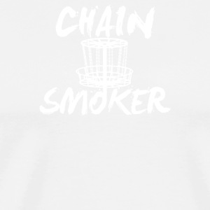 Chain Smoker Disc - Men's Premium T-Shirt
