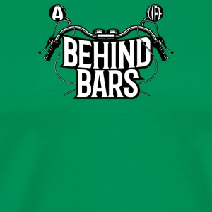 A Biker Life Behind Bars - Men's Premium T-Shirt