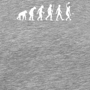 Evolution Of Tennis Ball Racket - Men's Premium T-Shirt