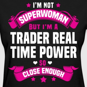 Trader Real Time Power T-Shirts - Women's T-Shirt