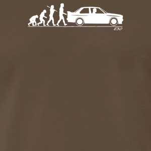 Evolution of Man BMW M3 E30 - Men's Premium T-Shirt