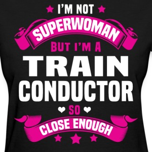 Train Conductor T-Shirts - Women's T-Shirt