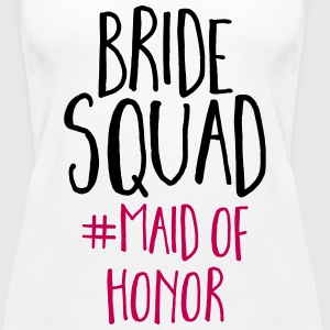 Bride Squad Maid Of Honor  Tanks - Women's Premium Tank Top