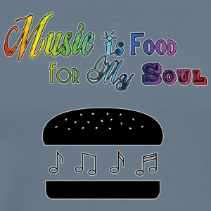 Music Is Food For My Soul - Men's Premium T-Shirt