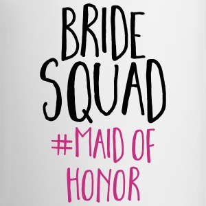 Bride Squad Maid Of Honor  Mugs & Drinkware - Coffee/Tea Mug