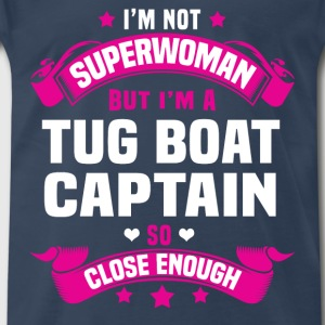 Tug Boat Captain T-Shirts - Men's Premium T-Shirt