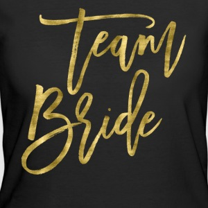 Team Bride Gold Foil Effect - Women's 50/50 T-Shirt