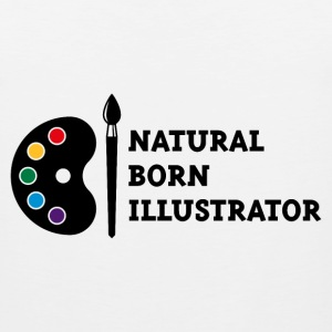 Natural Born Illustrator Sportswear - Men's Premium Tank