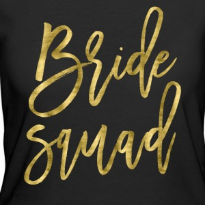 Bride Squad Gold Foil Effect - Women's 50/50 T-Shirt