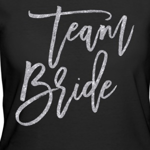 Team Bride Silver Glitter Effect - Women's 50/50 T-Shirt