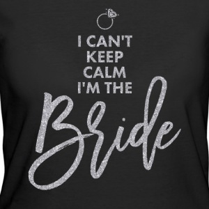 Keep Calm Bride Silver Glitter - Women's 50/50 T-Shirt