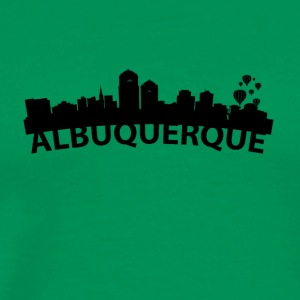 Arc Skyline Of Albuquerque NM - Men's Premium T-Shirt