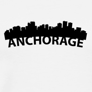 Arc Skyline Of Anchorage AK - Men's Premium T-Shirt