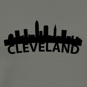 Arc Skyline Of Cleveland OH - Men's Premium T-Shirt