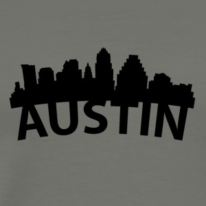Arc Skyline Of Austin TX - Men's Premium T-Shirt