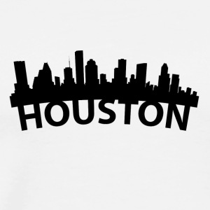 Arc Skyline Of Houston TX - Men's Premium T-Shirt