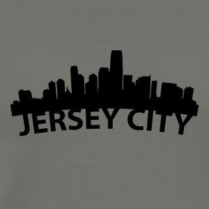 Arc Skyline Of Jersey City NJ - Men's Premium T-Shirt