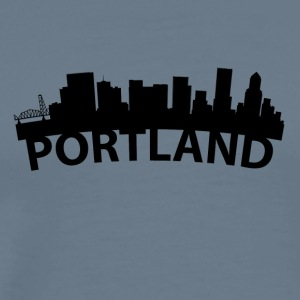 Arc Skyline Of Portland OR - Men's Premium T-Shirt