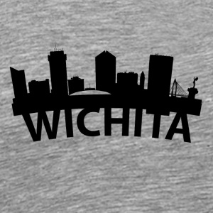 Arc Skyline Of Wichita KS - Men's Premium T-Shirt