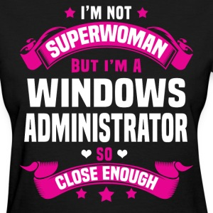 Windows Administrator T-Shirts - Women's T-Shirt