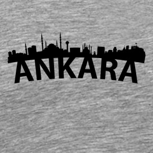 Arc Skyline Of Ankara Turkey - Men's Premium T-Shirt