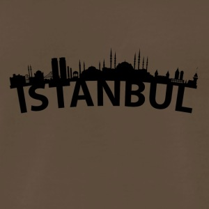 Arc Skyline Of Istanbul Turkey - Men's Premium T-Shirt
