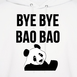 BYE BYE BAO BAO The Cute Panda is Leaving USA Tee Hoodies - Men's Hoodie