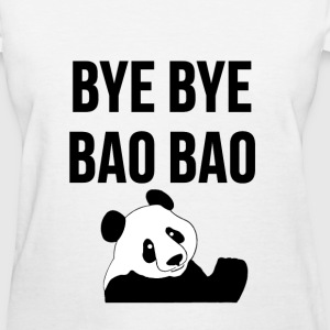 BYE BYE BAO BAO The Cute Panda is Leaving USA Tee T-Shirts - Women's T-Shirt