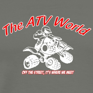 The ATV World - Men's Premium T-Shirt