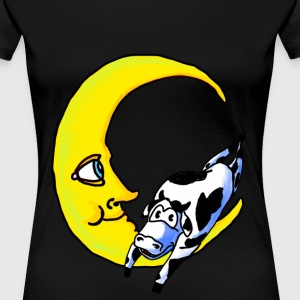 The Cow Jumped over the Moon - Women's Premium T-Shirt