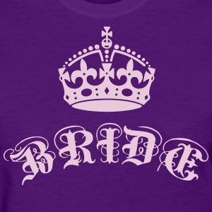 Bride Crown Elite Vintage luxury Wedding Star T-Sh - Women's T-Shirt