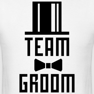 Team Groom Bachelor Party JGA Cylinder Hut BFF T-S - Men's T-Shirt