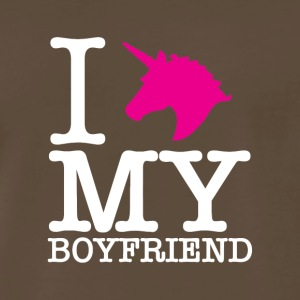 I Unicorn my boyfriend. - Men's Premium T-Shirt