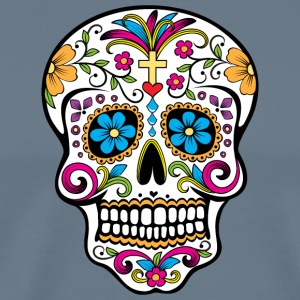 Colorful Sugar skull Special Limited Edition - Men's Premium T-Shirt