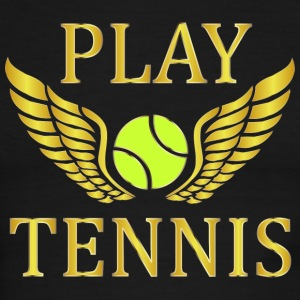 Play tennis   T-Shirts - Men's Ringer T-Shirt
