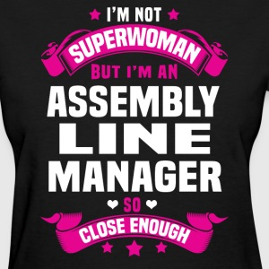 Assembly Line Manager T-Shirts - Women's T-Shirt