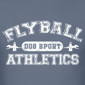 flyball athletics white T-Shirts - Men's T-Shirt