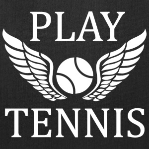 Play tennis   Bags & backpacks - Tote Bag
