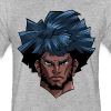 Thad Bannon Head - Fitted Cotton/Poly T-Shirt by Next Level