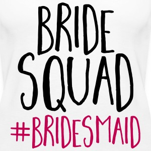 Bride Squad Bridesmaid  Tanks - Women's Premium Tank Top